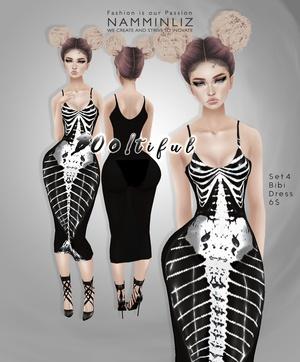 Boo!tiful Set4 •Bibirasta Dress