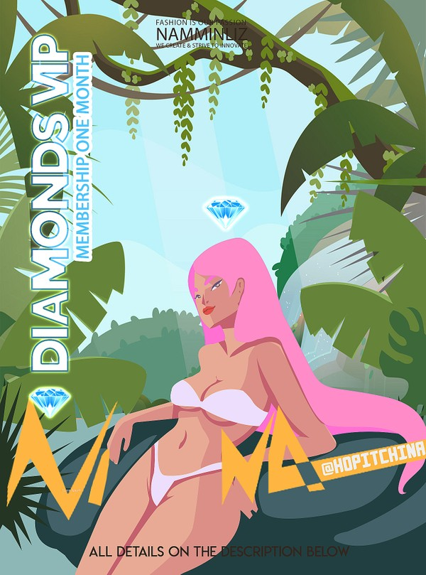 💎 Diamonds NAMMINLIZ VIP Membership One month for 12$