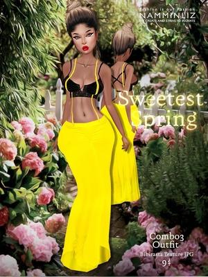 Sweetest Spring combo 3 Outfit ( Bibirasta textures JPG )