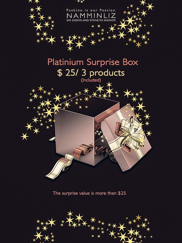 Platinium Surprise Box 3 Products