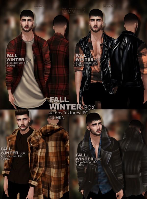 Fall Winter Box 4 Tops Textures JPG 4 CHKN