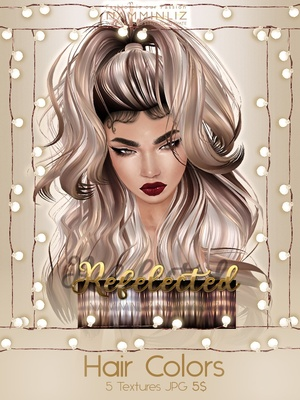 Reflected Hair Colors V1 Textures JPG imvu NAMMINLIZ file sale