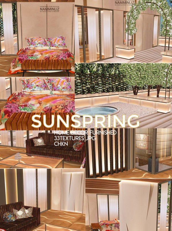 SunSpring Home decor 33 furnished Textures JPG  CHKN (Imvu link to the mesh)