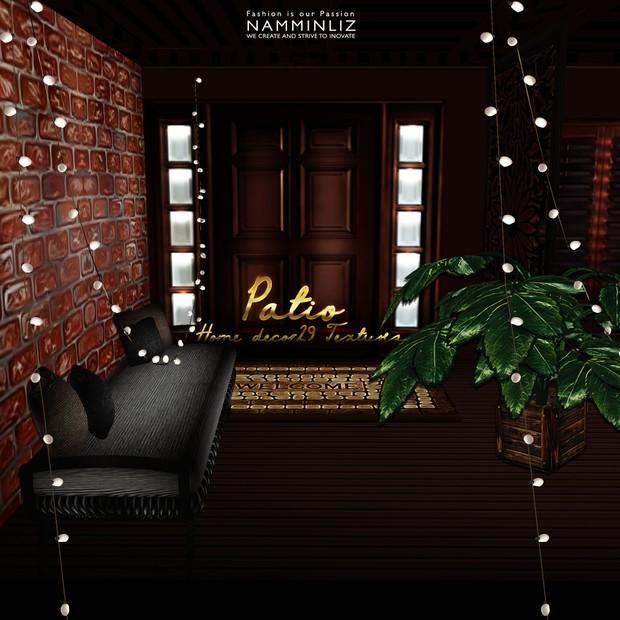 Patio Home Decor 29 Textures