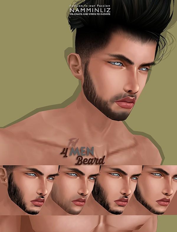 4 Fit Man Beard