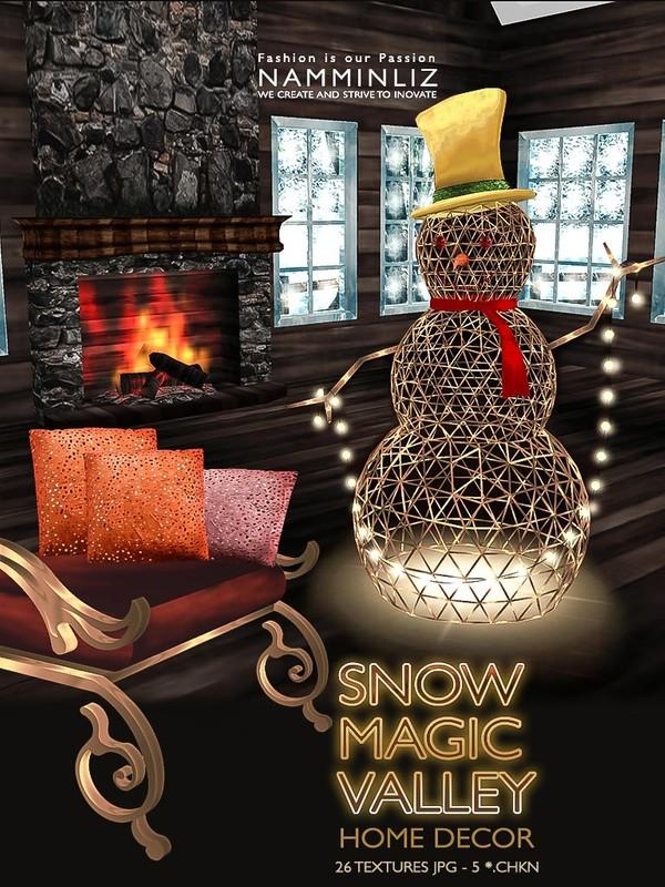 Snow Magic Valley 26 Textures JPG - 5*.CHKN