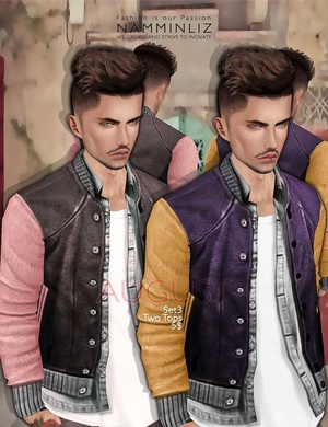 August Set 3  •Two Tops imvu Textures