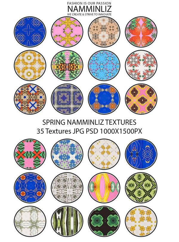 Spring 35 Textures V1 JPG 1000x1500px