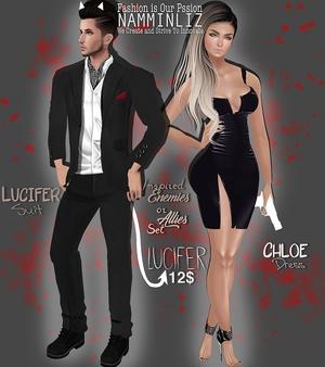 Enemies or Allies Set 2 Lucifer Chloe & Lucifer