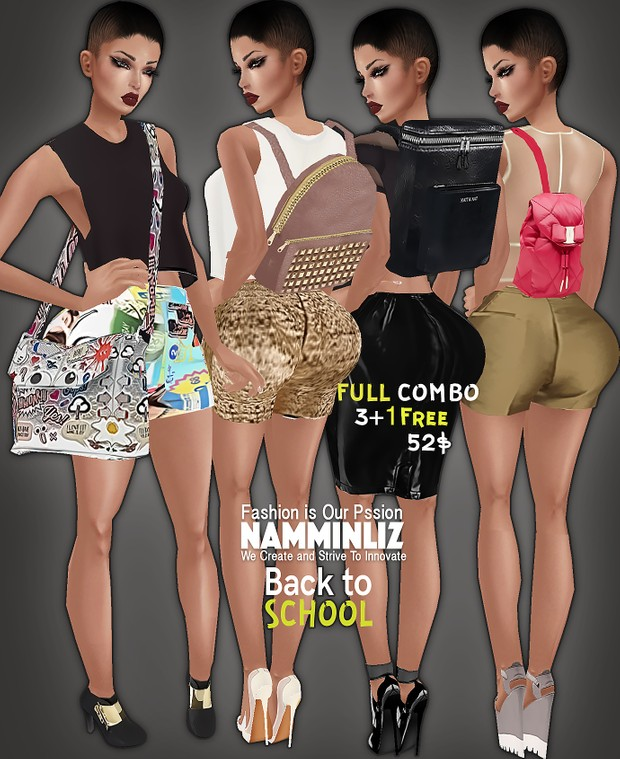 COMBO4 Back to School with Special Price 3+1Free