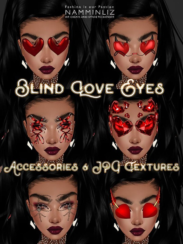 Blind Love Eyes Accessories 6 JPG Textures 6 CHKN