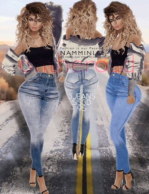 ontheroad combo3 / 3Jeans Sis3d PNG RLL RLLS RL