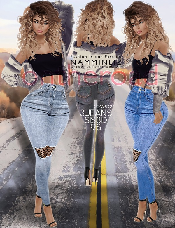 ontheroad combo2 / 3Jeans Sis3d PNG RLL RLLS RL