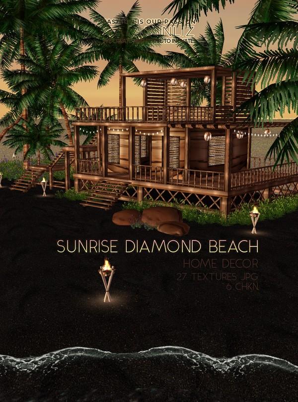 Sunrise Diamond Beach Home decor 27 Textures JPG 6 CHKN