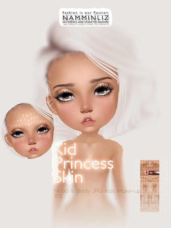 Kid Princess Skin & Make-up JPG (2* .CHKN file)