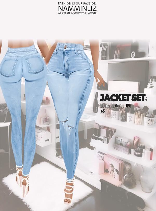 JACKET SET4 Jeans Textures JPG CHKN