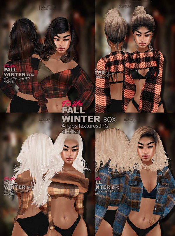 Fall Winter Box for Her 4 Tops Textures JPG 4 CHKN