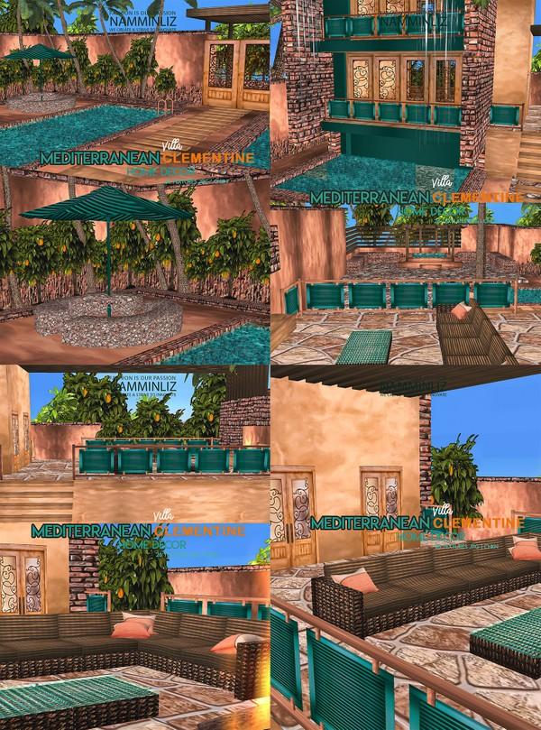 Mediterranean Villa Clementine Home decor 36 Textures JPG 1 CHKN Limited to 4