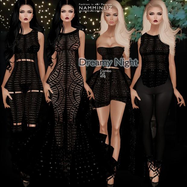 Dreamy Night combo1 •Bibi Dress