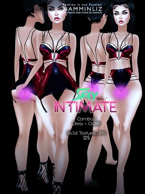 Sexy Intimate combo1 (Dress + outfit) Sis3d imvu Texture AP JPG