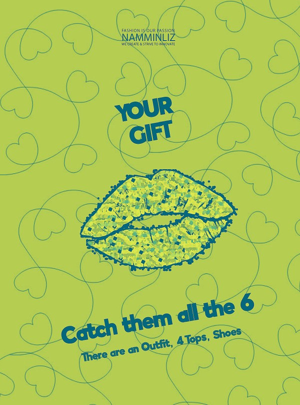 ♥ YOUR GIFT 5 ♥ Catch them all the 6