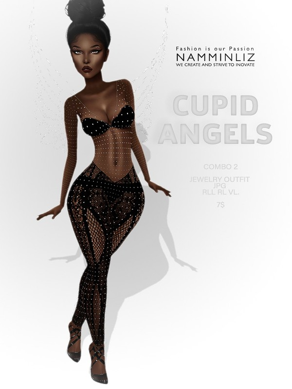 Cupid Angels combo 2 ( Outfit RLL, VL ) JPG textures