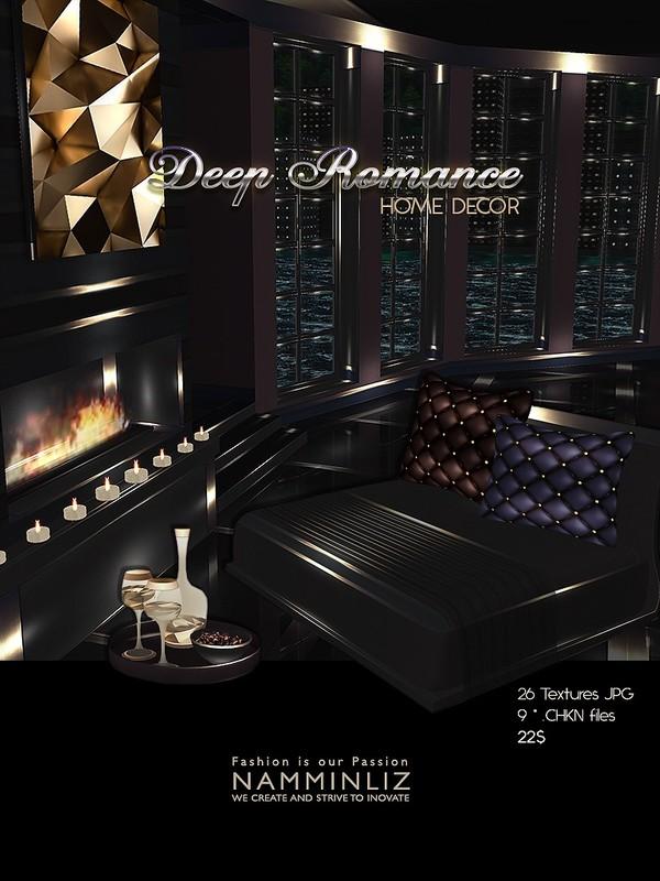 Deep Romance Home decor 26 Textures JPG 9 *.CHKN