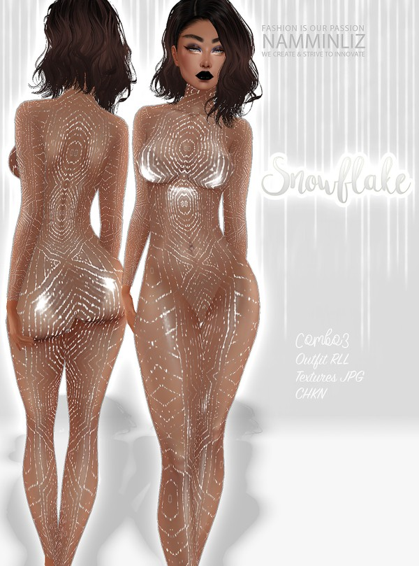 Snowflake Combo3 Outfit Textures JPG CHKN