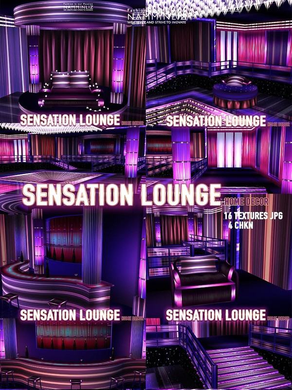 Sensation Lounge Home decor 16 Textures JPG 4 CHKN (link to the mesh)
