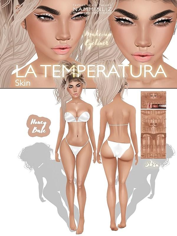La Temperatura Skin Honey Babe JPG ( Make-up - Eyeliner )