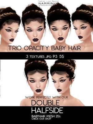 Double Half Side 3 Baby Hair Opacity Textures JPG 2018 P3