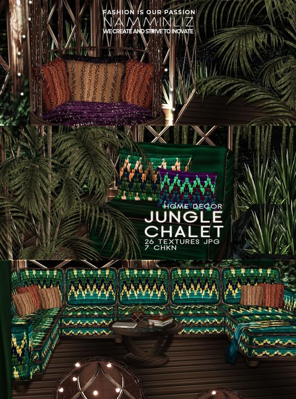Jungle Chalet Home decor 26 Textures JPG 7 CHKN