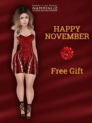 Happy November imvu free gift ♥