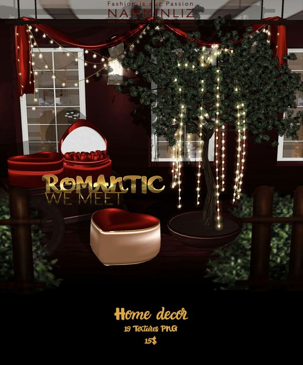 Romantic We Meet imvu Home decor 19 Textures PNG