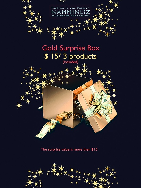 Gold Surprise Box 3 Products