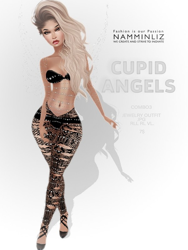 Cupid Angels combo 3 ( Outfit RLL, VL ) JPG textures