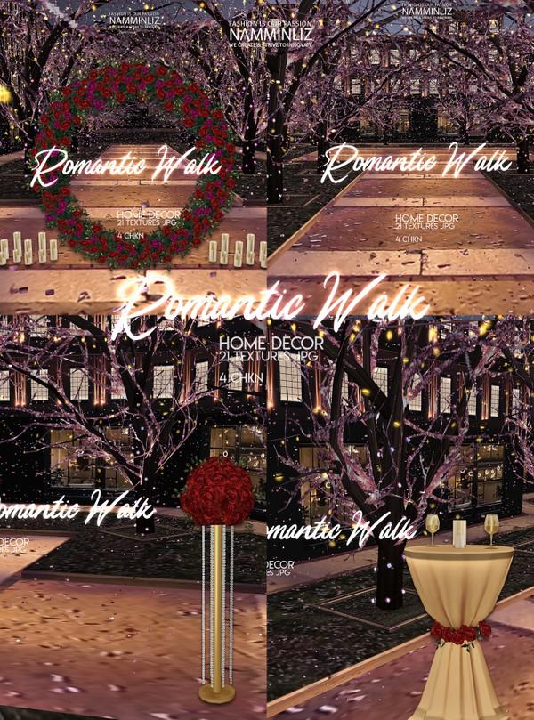 Romantic Walk Home decor 21 Textures JPG 4 CHKN