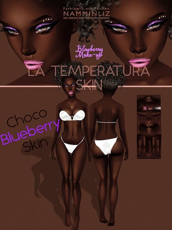 La Temperatura Choco Blueberry Skin Textures JPG ( Make-up - Eyeliner )