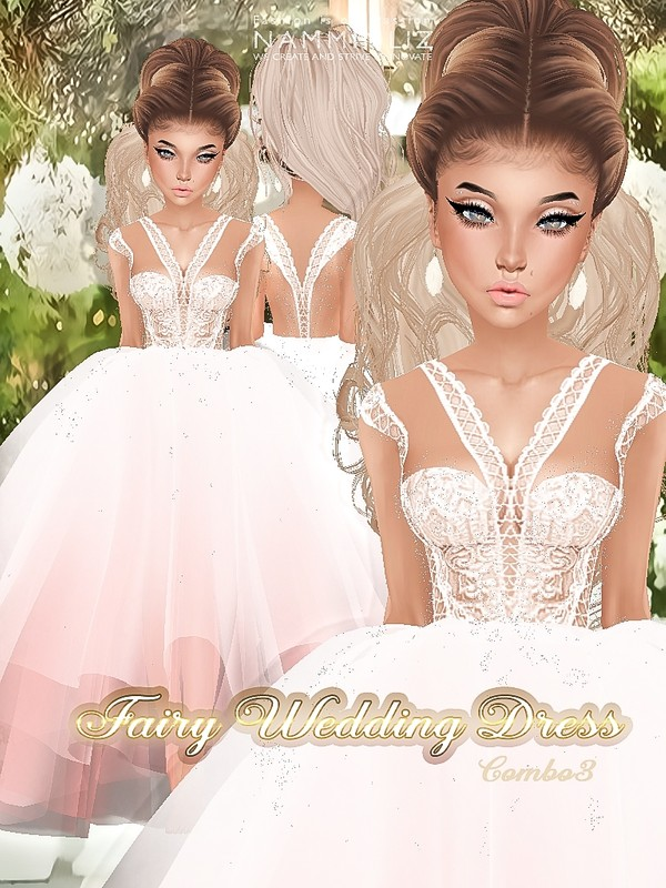 Fairy Wedding Dress Textures JPG combo3