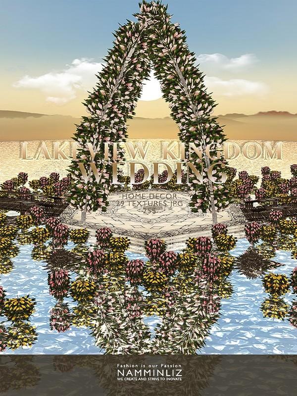 Lakeview Kingdom Wedding Home decor ( 29 Textures JPG 4*.CHKN )