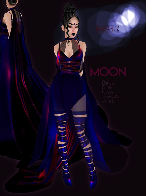 MOON Bundle Outfit & Shoe Textures JPG 2 CHKN