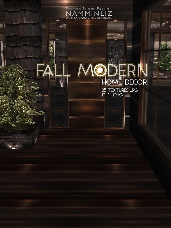 Fall Modern Home decor 25 Textures JPG 10 CHKN