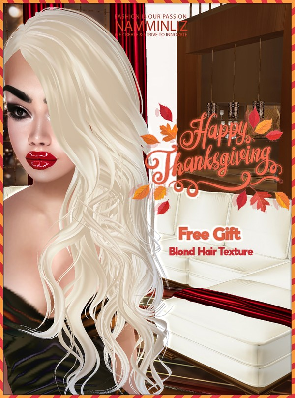 Happy Thanksgiving imvu free gift ♥