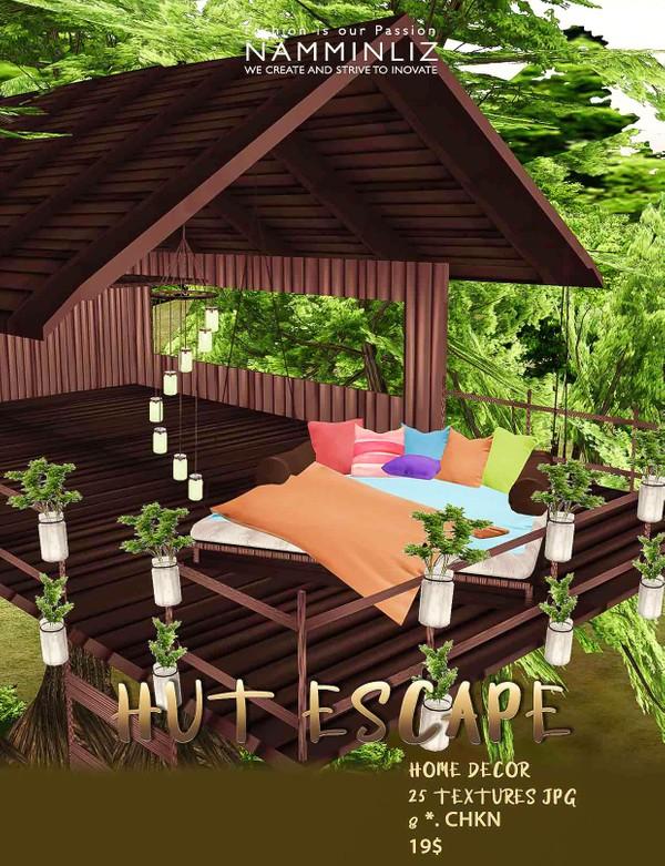 Hut Escape imvu Home decor • 25 Textures JPG • 8 ( Furnitures, Home )*.CHKN