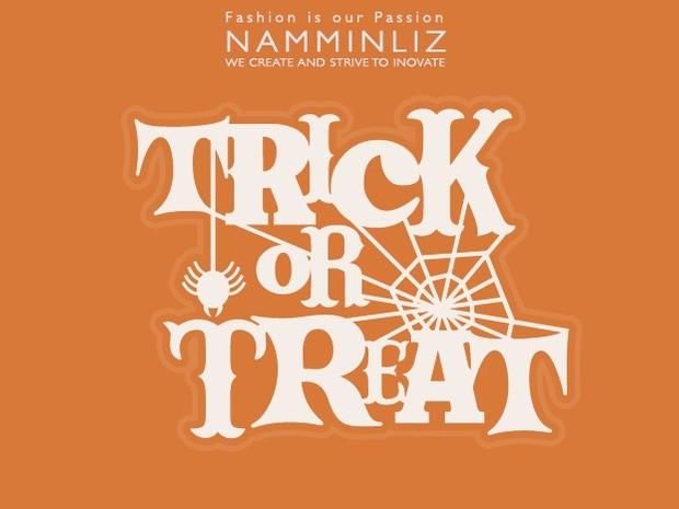 Happy Halloween Full Knock Knock, Trick Or Treat? ^ . & + Free Gift