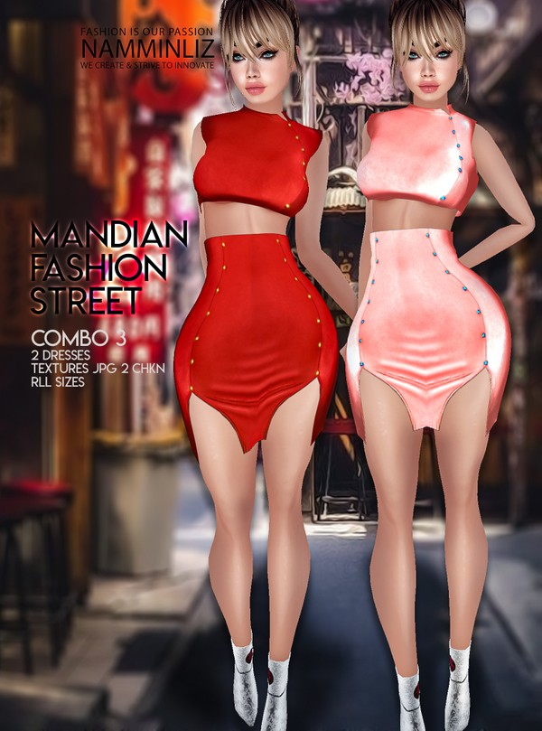 Mandian Fashion Street combo3 Two Dresses Textures JPG 2 CHKN