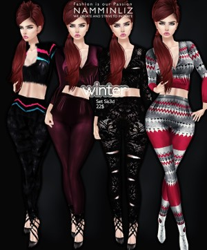 Full Winter set imvu Sis3d outfit