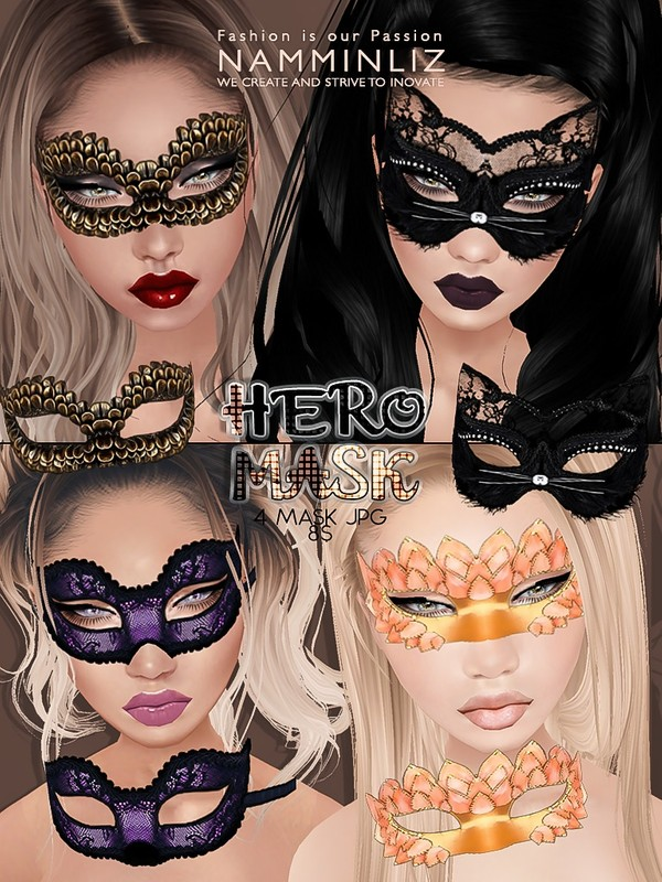 Hero Mask 4 imvu texture JPG NAMMINLIZ file sale
