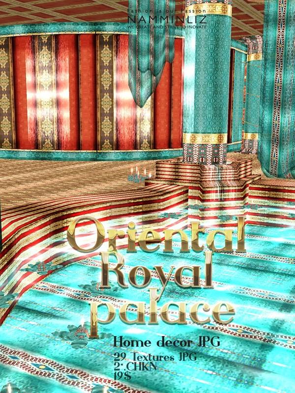 Oriental Royal Palace 29 Textures JPG