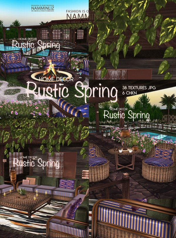 Rustic Spring Home decor 38 Textures JPG 6 CHKN Limited to 3 Client only
